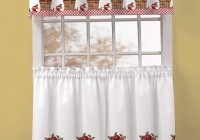 Christmas Kitchen Window Curtains