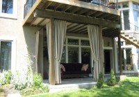 clear vinyl outdoor patio curtains