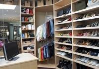 Closet Corner Shoe Rack