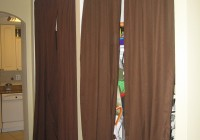 closet door alternatives curtains