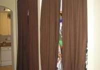closet door alternatives curtains