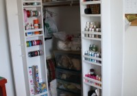 Closet Door Storage Ideas