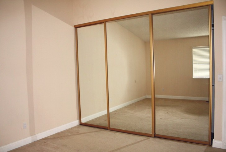 Permalink to Closet Mirror Sliding Doors Home Depot