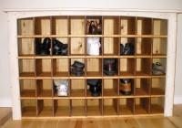 Closet Shoe Organizer Plans