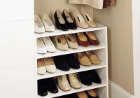 Closet Shoe Organizers Do It Yourself