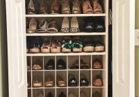 Closet Shoe Shelves Plans