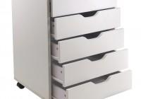 Closet Storage Drawers White