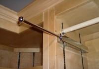 Closet Valet Rod Chrome
