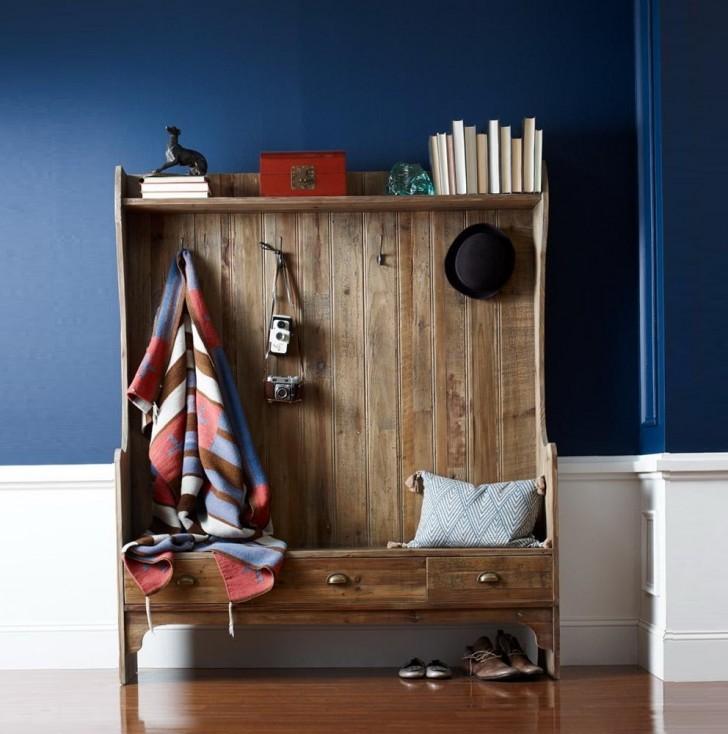 Permalink to Coat Rack Bench Modern