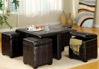 Coffee Table Ottoman Set