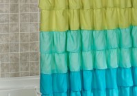 Colorful Bathroom Shower Curtains
