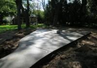 Concrete Deck Block Installation