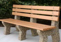 Concrete Garden Bench For Sale