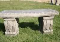 Concrete Garden Bench Melbourne
