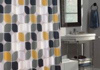 Contemporary Bathroom Shower Curtains