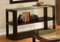 Contemporary Console Table With Storage