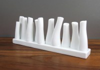 Contemporary White Ceramic Vases