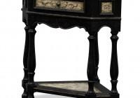 Corner Accent Table Black
