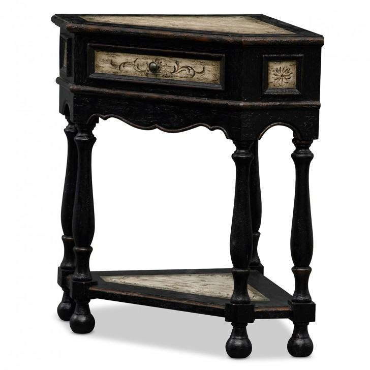 Permalink to Corner Accent Table Black