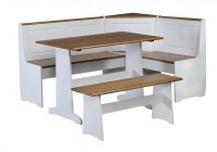 Corner Bench Kitchen Table Set