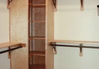 corner closet shelves diy