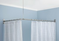 Corner Curtain Rods Home Depot