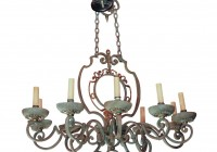 Country French Chandeliers Iron