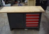 Craftsman Workbench 5 Drawer