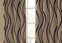 Cream And Black Curtains Ebay