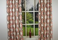 Cream And Black Curtains Eyelet