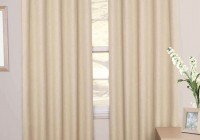 Cream Blackout Curtains Eyelet