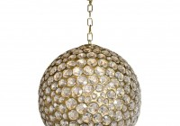 Crystal Ball Pendant Chandelier