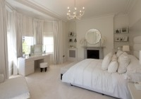 Crystal Chandelier In Bedroom