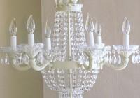crystal empire 6-light chandelier