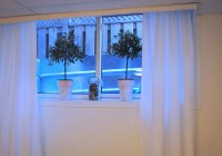 Curtain Ideas For 3 Small Windows In A Row