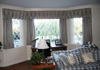 Curtain Ideas For Large Bay Windows