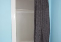 Curtain Instead Of Closet Door