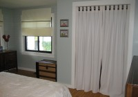 Curtain Rod Closet Door