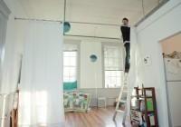 Curtain Room Dividers Loft