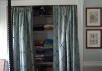 curtains for closet doors ideas