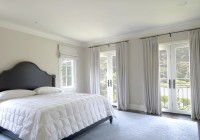 Curtains For French Doors Bedroom