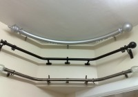 Curved Bay Window Curtain Rod
