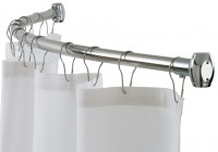 Curved Shower Curtain Rod Walmart