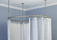 Curved Shower Curtain Rods