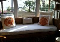 Custom Bench Cushion Covers