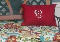 custom bench cushions outdoor