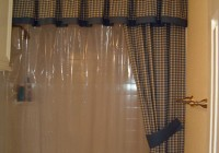 Custom Shower Curtains With Valance