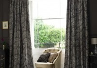 Dark Gray Curtains Living Room