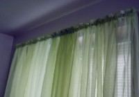 Dark Green Panel Curtains
