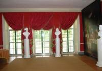 Dark Pink Velvet Curtains